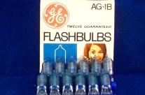 GENERAL ELETTRIC AG1B LAMPADINE FLASH A BULBO