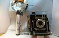 "Graflex Speed Graphic ""miniature""  2¼ x 3¼ (6X9) 1938 – 1947"